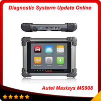 2014 Original AUTEL MaxiSys MS908 Auto Scanner Free Update O...