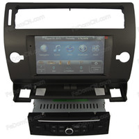 Wholesale 7 inch double din car dvd with gps for European Citroen C4