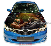 Wholesale Comics Venom Spiderman JDM Decal Full Color Vinyl Car hood sticker Fit Any car