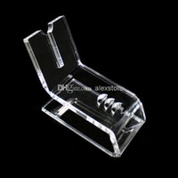 Electronic Cigarette display rack for ecig ego battery and mech mod Acrylic e cig display clear standing shelf holder rack for vapor k100 ecig mech mod mechanical bagua panzer hades electronic cigarette DHL