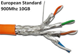 Wholesale 10GB MHz CAT7 SFTP Solid Cables Cat Copper wires AWG23 LSOH LSZH Low Smoke Zero Halogen European Telecom Standard