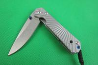 Wholesale Newest Chris Reeve CR HRC folding Satin blade knife Drop point Nemesis IV BG knife tactical knives camping rescue pocket survival knife H