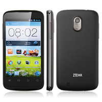 """WCDMA English 5.0-8.0MP 4.0"""" IPS ZTE V889F Android 4.0 Dual Core Qualcomm MSM8225 1.2GHz 512MB 4GB WiFi GPS 5MP Camera WCDMA 3G Dual Sim Card Smartphone Cell Phone"""