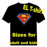 Wholesale Flash Animate T shirt Equalizer t shirt EL T shirt EL flashing t shirt Sound Active led t shirt EF61