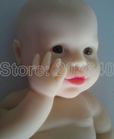 Unisex Birth-12 months PVC realistic toys models unique toys silicone reborn baby dolls real doll learning & education