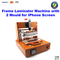Wholesale Free ship Frame Laminator machine with Mould for iPhone Screen bezel Pressure bracket Laminating frame support press machine