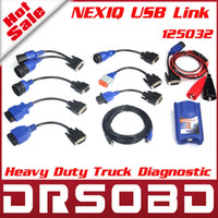 Wholesale A Quality New Design NEXIQ USB Link Software Diesel Truck Diagnose Interface And Software With All Installers