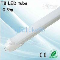 T8 10W SMD 2835 Wholesale - Free FedEx 14W 900mm 1400lm T8 3 Feet 3FT 85-265AC White 3200-6500K LED Tube Light Bulb Lamp Fluorescent Tube 25pcs lot