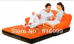 Wholesale garden Outdoor sofa Inflatable sofa air mattress In Color sofa bed