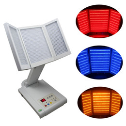Photon LED light therapy machine Skin Rejuvenation PDT Red yellow blue light Machine