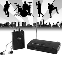 Wholesale TAKSTAR In Ear Stage Wireless Monitor System Receiver Transmitter In Ear Microphones