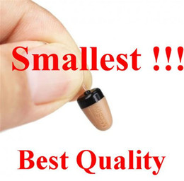 Wholesale High Quality Wireless mini in ear Hidden Earpiece for exam micro FBI earphone