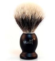 wood  shaving brush - Men s Traditional Finest badger hair shaving brush with wood handle