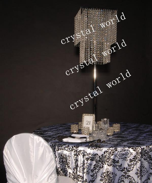 Wedding Centerpieces for Table Crystal Flower Stand home – Chandelier Wedding Centerpieces