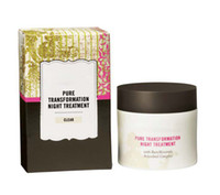 Wholesale Makeup Foundation Minerals Pure Transformation Night Treatment g oz LIGHT MEDIUM GLEAR new click lock