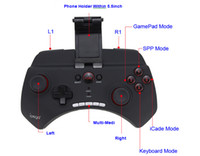 Wholesale DHL Top iPEGA PG Bluetooth Wireless Universal Game Controller Gamepad Joystick for Phone Pod Pad Samsung HTC Android Phone Tablet PC