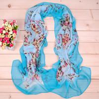 Wholesale February new spring models Nest printed chiffon long scarf super soft beach towel Yiwu scarves