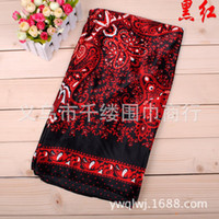 Spot One thousand tales Satin 2014 large square dots cashew floral satin scarf bandage Yiwu wholesale sales