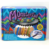 2014 Rainbow loom monster tail monster tail kit Twistz DIY r...
