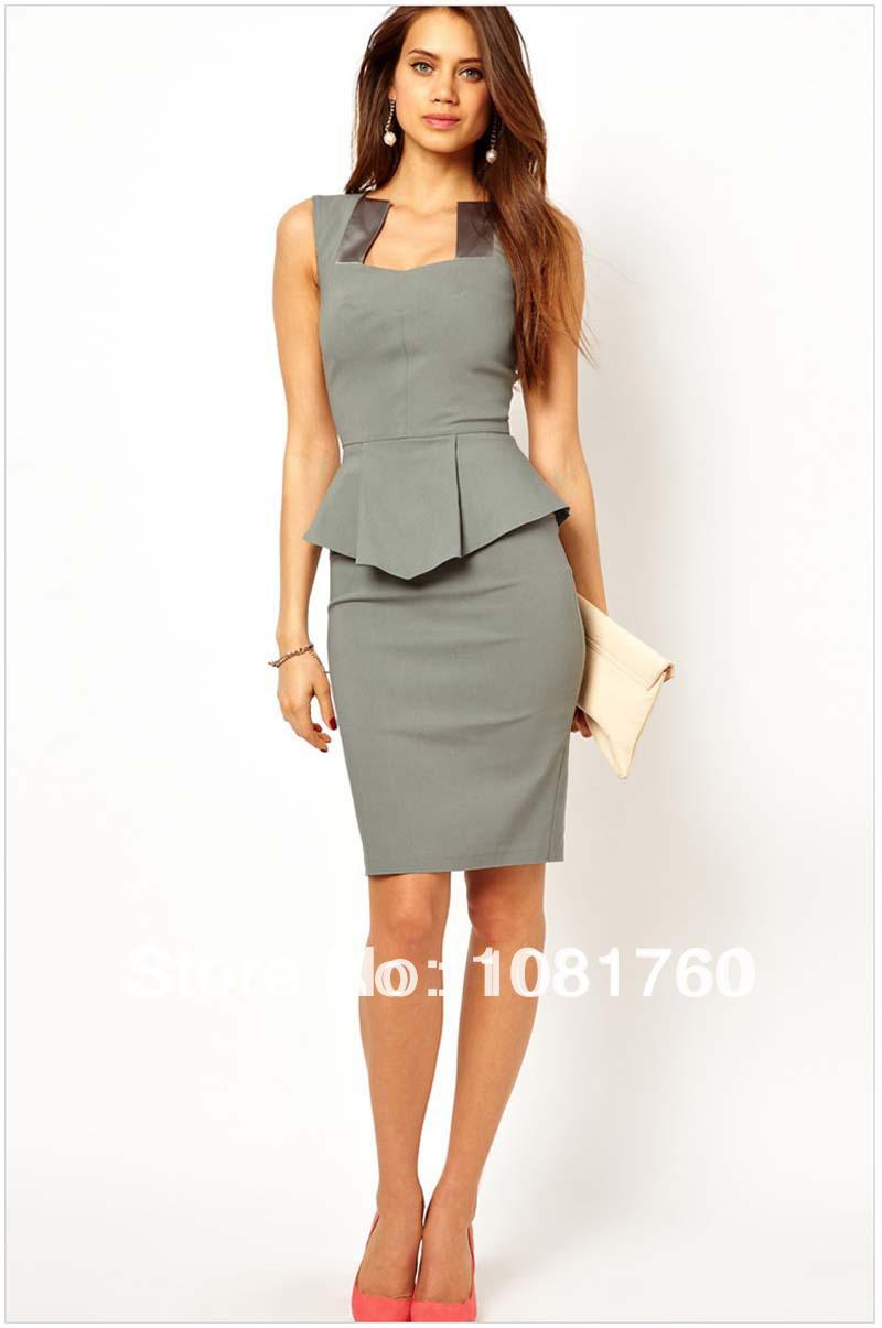 2017 career dresses women business suits formal office for Creer dressing