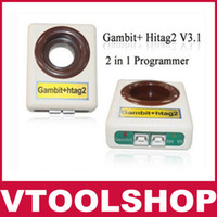 Volt Meters Yes 9W 2013 Host Test 2 in 1 Gambit+Hitag 2 V3.1 Programmer Auto Key Programmer RFID Transponder Programming