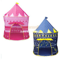 Tents Animes & Cartoons Polyester Ultralarge Children Beach Tent,Baby Play Game House,Kids Princess Prince Castle Indoor Outdoor Toys Tents Christmas Gifts #37378
