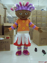 Wholesale Iggle Piggle amp Upsy Daisy Mascot costume Adult Size Halloween Party Children Fancy dress factory direct