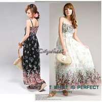 Work Mini Chiffon Ladies Sexy Hot Print Boho Maxi Dress Summer Long Beach Backless Dress for Women ~1 3104