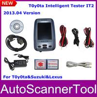 Code Reader For BMW Autel 2013.04 Version Toyota Intelligent Tester IT2 With Oscilloscope Function For Toyota&Suzuki&Lexus With Aluminium Case Fast Ship