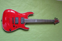 Wholesale Brand Classic Guitar Red Penetrating Body Design Fret Electric Guitar