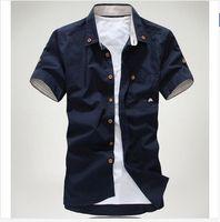 Men designer mens clothing - New Shirt Men s polo casual dress Mens brand Designer Clothes Spring Shirts Slim man spring men clothing camisas m011
