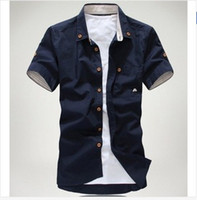 Discount Designer Clothes For Men Cheap Men Casual Shirts Best