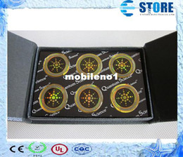 Wholesale High Qulity Quantum Science Energy Mobile Sticker Anti radiation Shield Chip with Authenticity Card