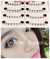 Wholesale 10 Pairs Natural Under Lower Eye Lashes Bottom Fake False Eyelashes Makeup