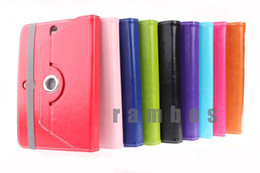 Wholesale Universal inch Tablet PC Leather Case Cover with Degree Rotating for inch Tablet PC MID PAD