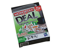 Wholesale High Quality Funny Popular Board Game Set Toy for Kids Monopoly Deal Card Game