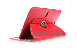 Wholesale Coby Screen - 360 Degree Rotating Universal Tablet Case Cover Stand PU Leather Case for 7 inch Android Tablet PC