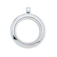 Lockets wholesale lockets - New fashion mm Rhodium Plated Charm Floating Lockets DIY glass locket memory Locket Locket necklace
