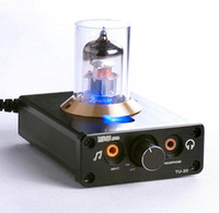 Wholesale MUSE TU EH6922 smallest Tube Preamp Headphone Amplifier Silver Black