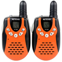 Handheld plastic flashlight - Orange Child Kid Toy Walkie Talkies Retevis RT UHF W CH For Kid Children LCD Display Flashlight VOX A7120A