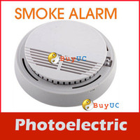 Wholesale New Arrive Home Photoelectric Cordless Smoke Detector Fire Alarm