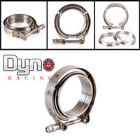 Wholesale Dyno quot V Band clamp flange Kit Stainless Steel Clamp SUS304 Flange For turbo exhaust downpipe
