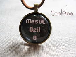 Wholesale Arsenal soccer player Mesut ozil type No world cup Germany retro fashion necklace for soccer fans