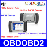 Wholesale 100 Original Autel Maxidas DS708 With Wifi Year Free Update Online Touch Screen DS Scanner Full Package Multi Language