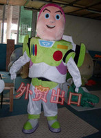 adult space suit - Brand New Hot Sale Cartoon Character adult size For Halloween Costume mascot fancy Space ranger Buzz Lightyear ToyStory costumes outfit suit