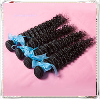 Malaysian Hair Deep Wave AAAAAA Opening Promotion!4 bundles 6A 10-30inch Unprocessed Hair Deep Wave Curly Brazilian Malaysian Peruvian Indian Cheap Virgin Hair Extensions