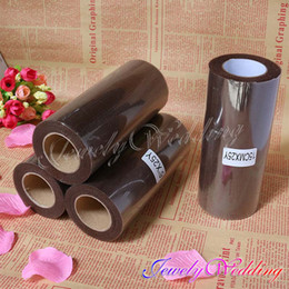 Wholesale Brown x yd TULLE Roll Spool Tutu for Wedding Party Decoration