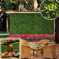 Wholesale new style x25cm fire resistant boxwood grass mat wedding decoratives long lasting for garden party G0602B017D