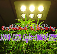 Wholesale W COB LED grow light W HPS Integrated chip LED Professional in flowering More condenser More light More energy efficient