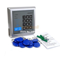 Wholesale Drop Shipping RFID Proximity Door Lock Access Control System Kefobs Keys